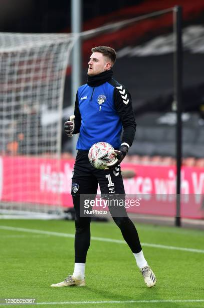 Oldham Athletic's Ian Lawlor before the FA Cup match between Bournemouth and Oldham Athletic at the Vitality Stadium, Bournemouth on Saturday 9th...