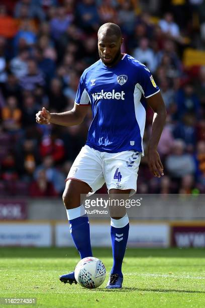 Oldham Athletic's Sonhy Sefil in action during the Sky Bet League 2 match between Bradford City and Oldham Athletic at the Coral Windows Stadium...