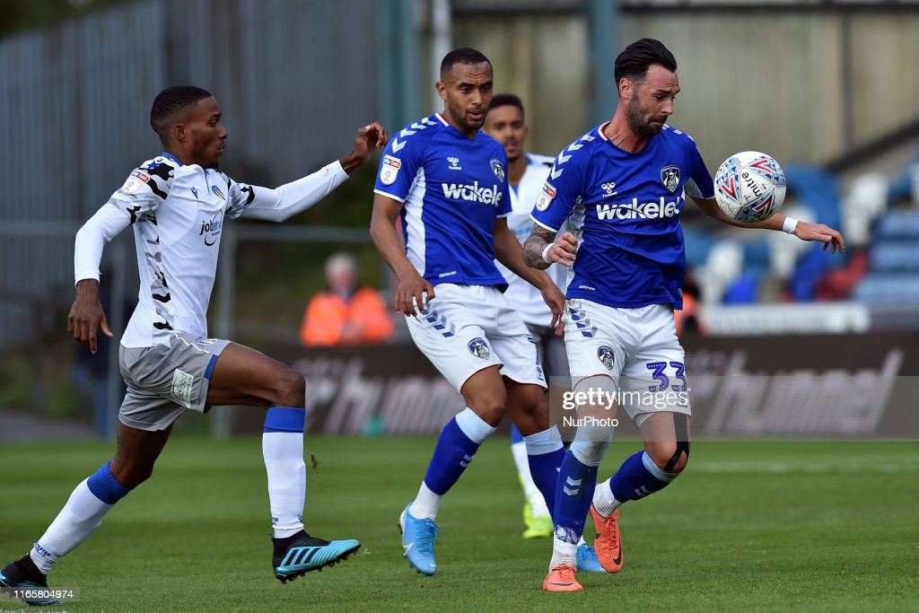 Oldham Athletic v Colchester United - Sky Bet League 2 : News Photo