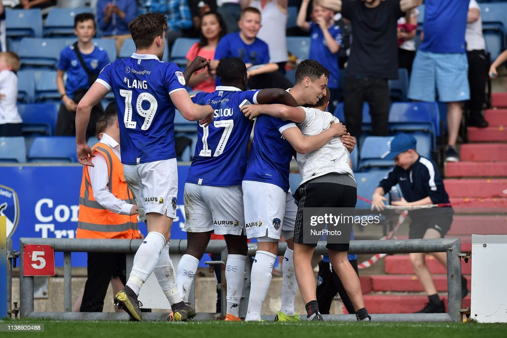 GBR: Oldham Athletic Vs Mansfield Town - Sky Bet League 2