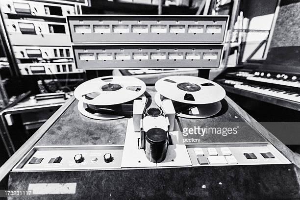 Vieja escuela equipo de grabación.