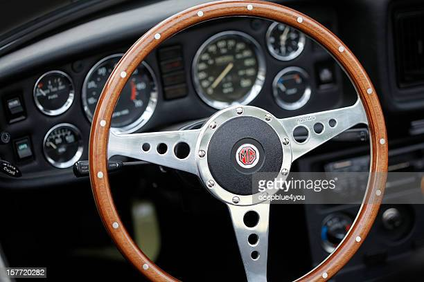 MG Oldtimer Cockpit