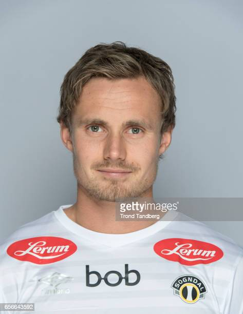 Ole Amund Sveen of Team Sogndal Fotball during Photocall on March 22 2017 in Sogndal Norway