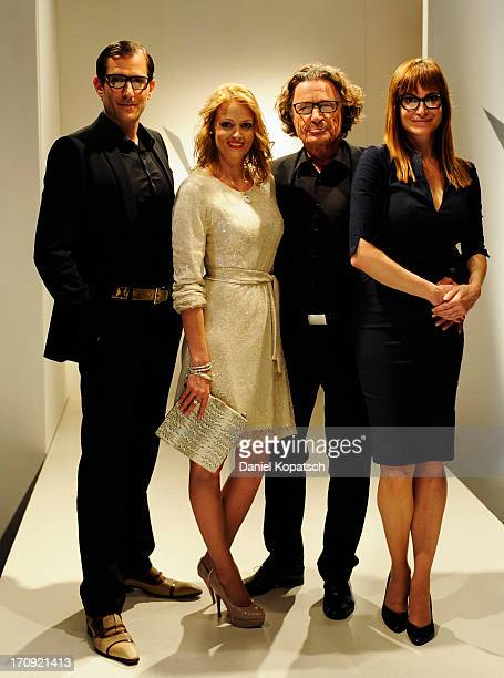Ole Eisfeld Johanna Lehmann Max Volkert Martens and Alexandra Kamp pose during a photocall of 'SOKO Stuttgart' TV Series on June 20 2013 in Stuttgart...