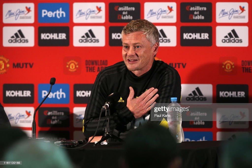Manchester United Media Opportunity : News Photo