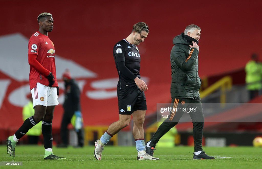 Manchester United v Aston Villa - Premier League : ニュース写真