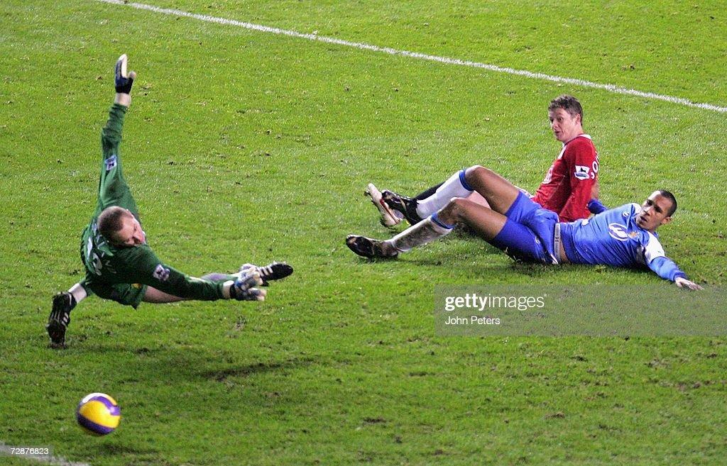Manchester United v Wigan Athletic : News Photo