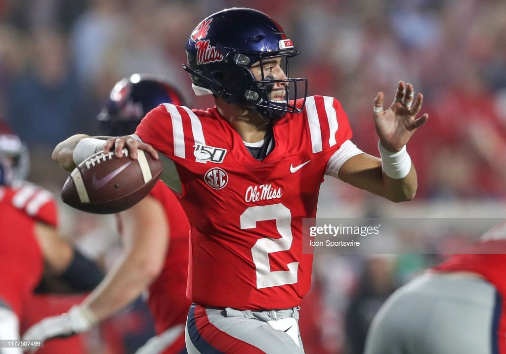 COLLEGE FOOTBALL: OCT 19 Texas A&M at Ole Miss : News Photo