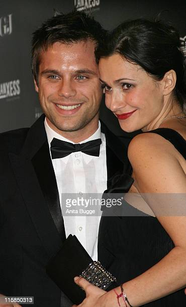 Ole Tillmann and Anita Bachelin attend the annual German media ball 'Bundespresseball' on November 23 2007 in Berlin Germany