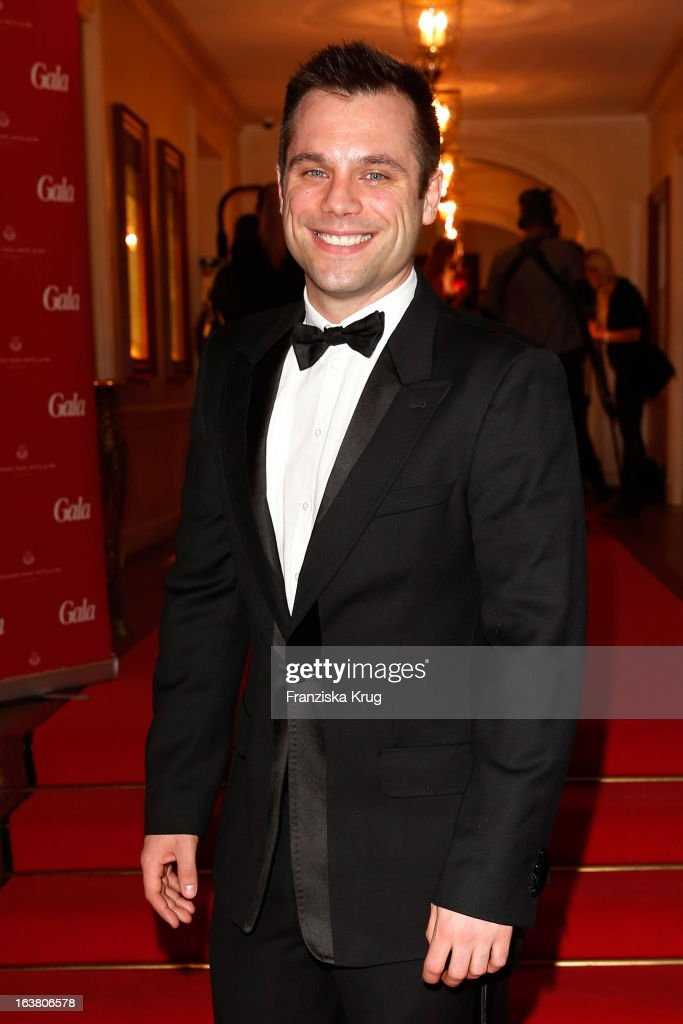 Ole Tillmann attends the Gala Spa Awards 2013 at the Brenners Park Hotel on March 16, 2013 in Berlin, Germany.