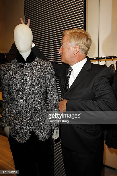 Ole von Beust at The Opening Of Giorgio Armani and Emporio Armani boutiques in the High bleaching in Hamburg