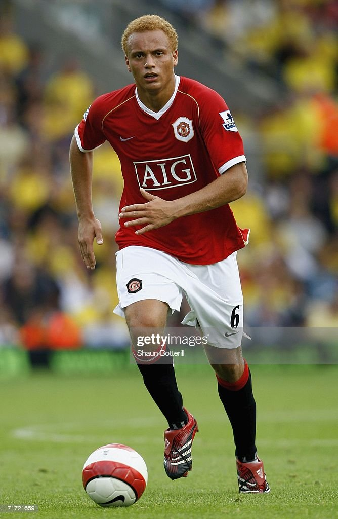 Ole Wes Brown of Manchester United during the Barclays Premiership match between Watford and Manchester United at Vicarage Road on August 26, 2006 in Watford, England.
