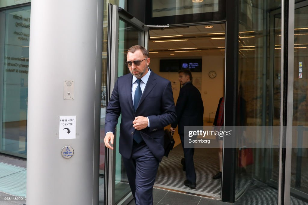 Billionaire Oleg Deripaska Attends Court Hearing Over Control Of Nornickel  : News Photo