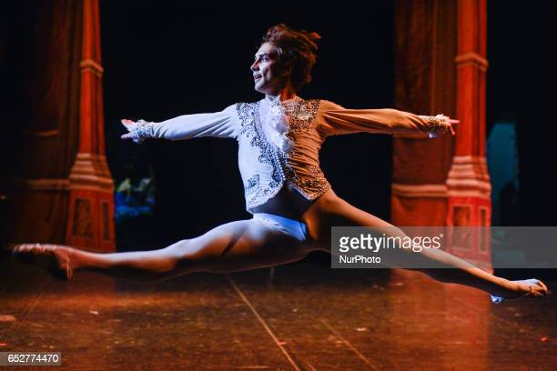 Oleg Eromkin in the role of Prince in 'Sleeping Beauty' performed by The Royal Moscow Ballet during their Irish Tour 2017, in The Helix, Dublin. On...