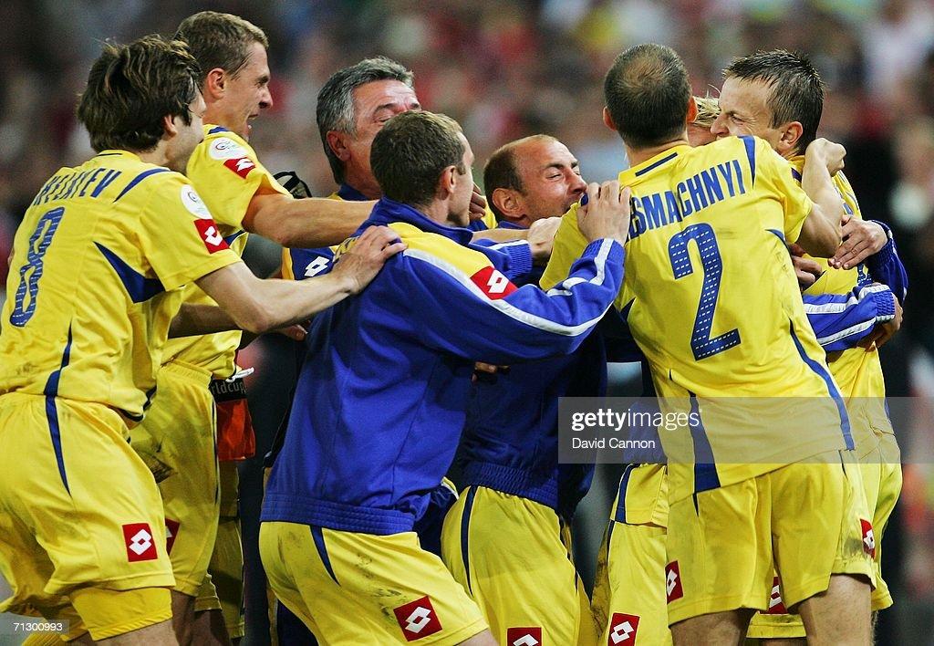 Round of 16 Switzerland v Ukraine- World Cup 2006 : News Photo