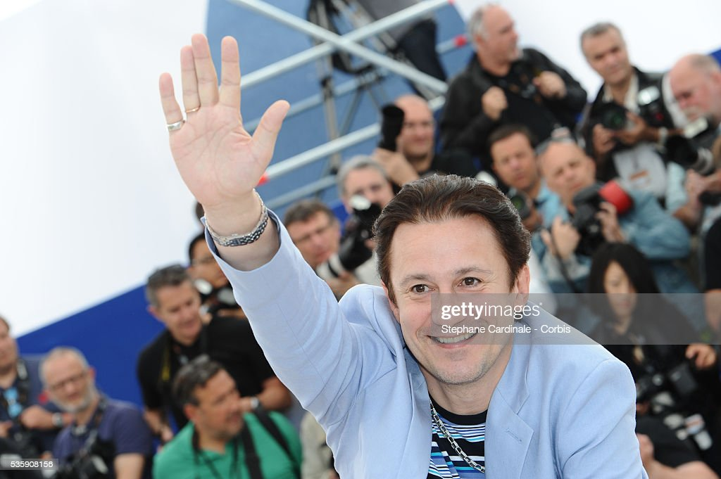 Oleg Menshiko attends the 'The Exodus - Burnt By The Sun 2' Photocall during the 63rd Cannes International Film Festival.