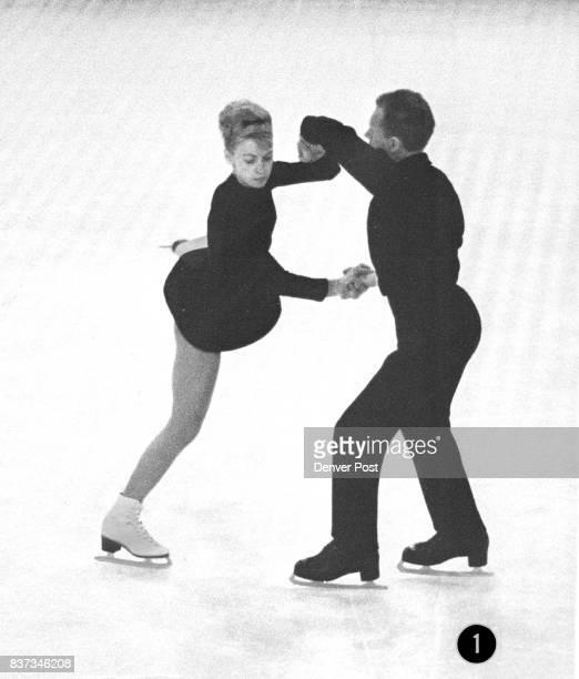 Oleg Protopopov and his wife Ljudmila Belousova Credit Denver Post
