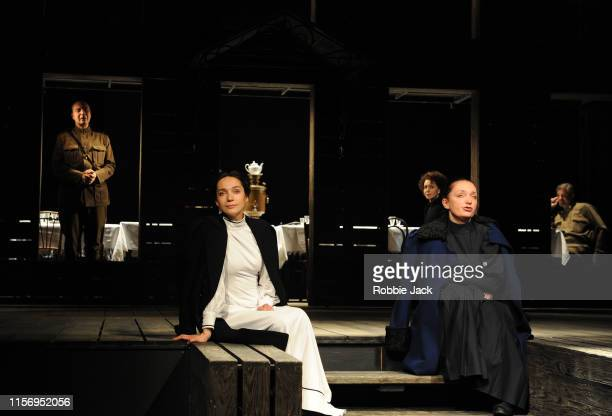 Oleg Ryazantzev as Nicolay Tuzenbach Irina Tychinina as Olga Ksenia Rappoport as Masha Ekaterina Tarasova as Irina and Sergey Kuryshev as Ivan...