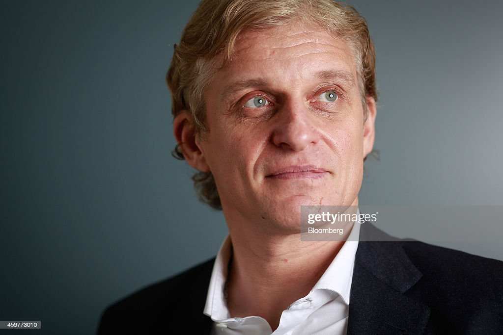 Russian Millionaire And Founder Of TCS Group Holding Plc Oleg Tinkov : ニュース写真