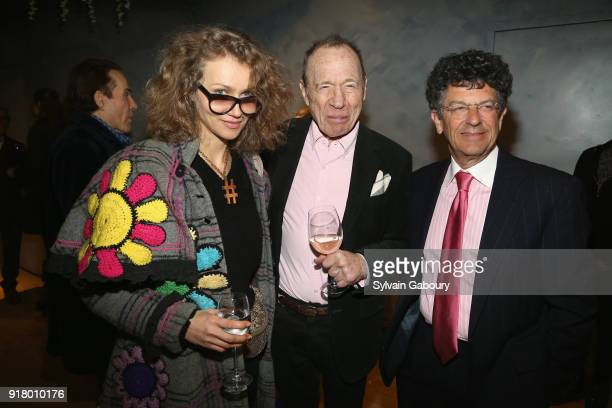 Olek Anthony HadenGuest and Michael Gross attend AVENUE Celebrate its two Newest Contributing Editors Nina Griscom and Anthony HadenGuest on February...