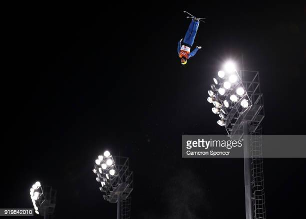 Oleksandr Abramenko of the Ukraine competes during the Freestyle Skiing Men's Aerials Final on day nine of the PyeongChang 2018 Winter Olympic Games...