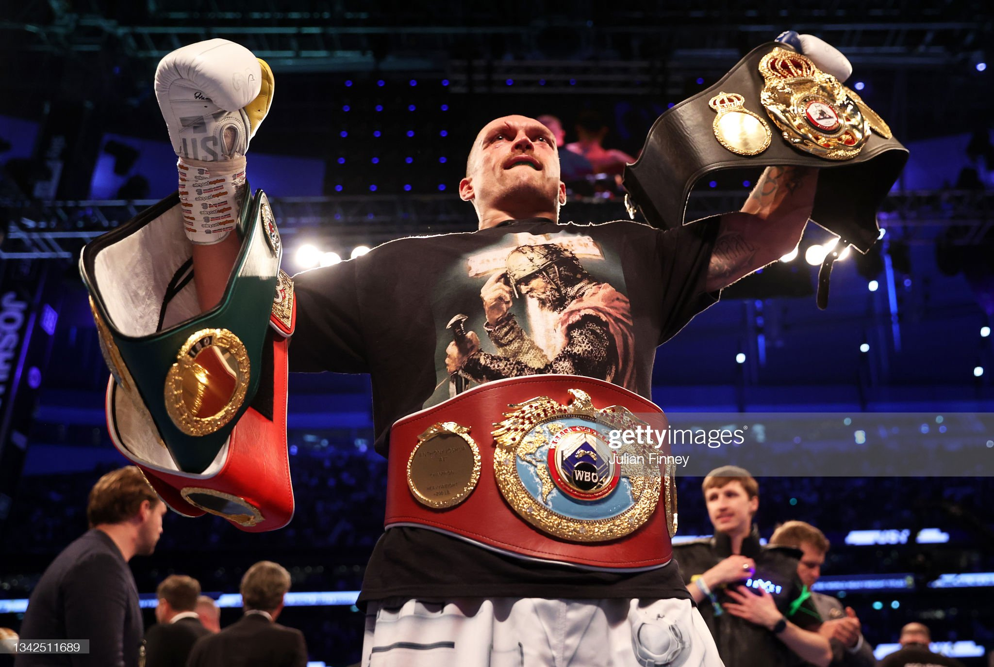 Anthony Joshua v Oleksandr Usyk - Heavyweight Title Fight : News Photo
