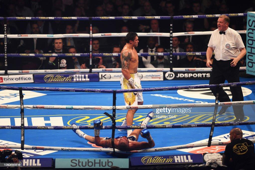Oleksandr Usyk v Tony Bellew - Cruiserweight World Title Fight : News Photo