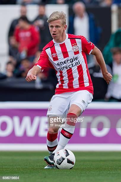 Oleksandr Zinchenko of Eindhoven in action during the friendly match between Borussia Dortmund v PSV Eindhoven Friendly Match at Estadio Municipal La...