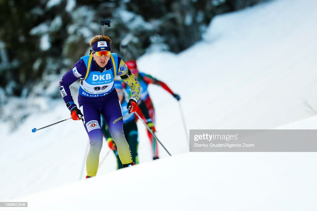 IBU Biathlon World Cup - Women's Sprint : News Photo