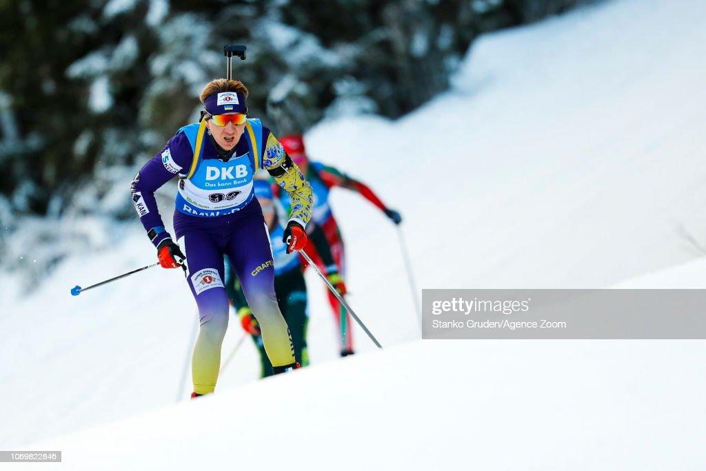 IBU Biathlon World Cup - Women's Sprint : Photo d'actualité