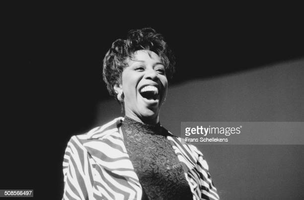 Oleta Adams, vocal, performs at the North Sea Jazz Festival in the Hague, Netherlands on 12 July 1996.