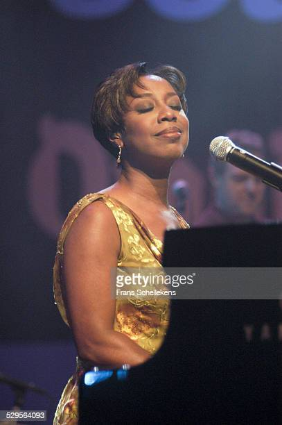 Oleta Adams, vocal performs at the North Sea Jazz Festival on July 13th 2002 in Amsterdam, Netherlands.