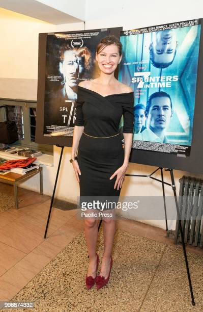 Olga Alex attends 7 Splinters in Time New York premiere at The Anthology Film Archives