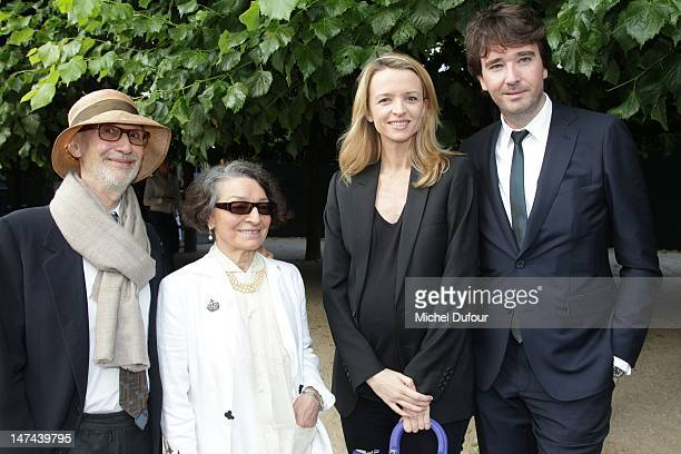 Olga Berluti, Delphine Arnault and Antoine Arnault attend the private dinner during the Berluti Menswear Spring/Summer 2013 show as part of Paris...