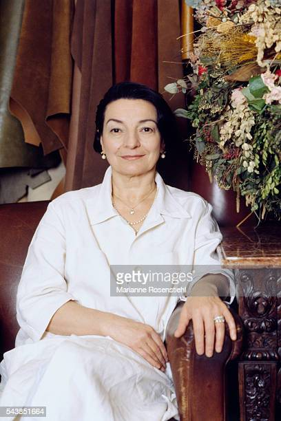 Olga Berluti from the renowned Italian family of shoe makers continues the tradition that began in 1895