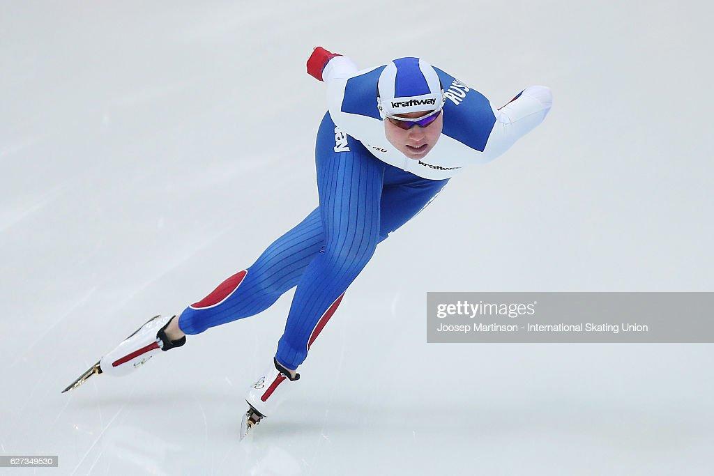 ISU World Cup Speed Skating - Astana Day 2