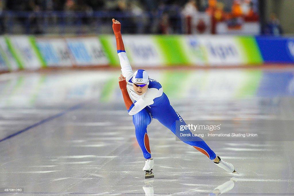 ISU World Cup Speed Skating Calgary - Day 1