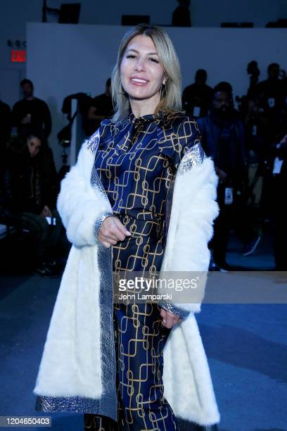 Olga Ferrara attends the Blancore fashion show during February 2020 New York Fashion Week The Shows at Gallery II at Spring Studios on February 07...