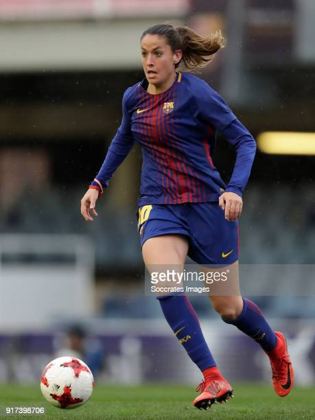 Olga Garc'a Perez of FC Barcelona Women during the Iberdrola Women's First Division match between FC Barcelona v Levante at the Ciutat Esportiva Joan...
