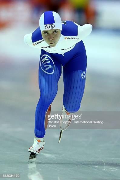 Olga Graf - speed skater - Russian Personalities
