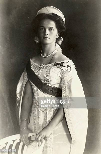 Olga Grand Duchess of Russia and one of the four daughters of Czar Nicholas II She was executed along with the rest of her family in 1918