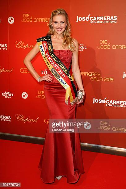 Olga Hoffmann attends the 21th Annual Jose Carreras Gala at Hotel Estrel on December 17 2015 in Berlin Germany
