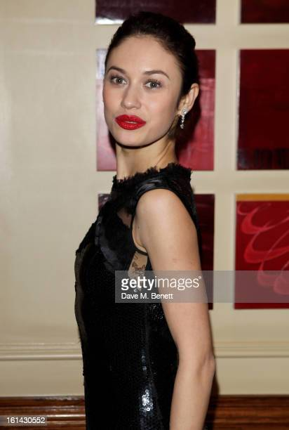 Olga Kurylenko arrives at the after party following the EE British Academy Film Awards at Grosvenor House on February 10 2013 in London England