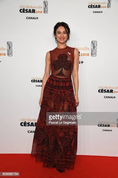 Olga Kurylenko arrives at the Cesar Film Awards 2018 at Salle Pleyel on March 2 2018 in Paris France