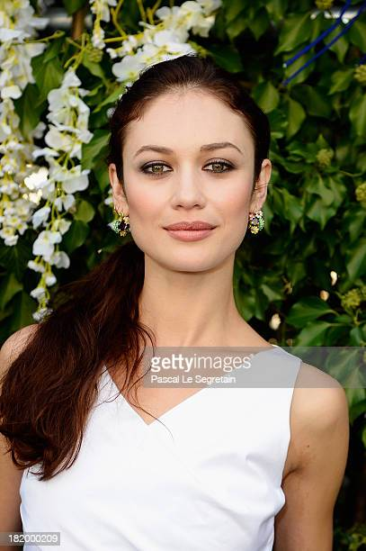 Olga Kurylenko arrives at the Christian Dior show as part of the Paris Fashion Week Womenswear Spring/Summer 2014 at Musee Rodin on September 27 2013...
