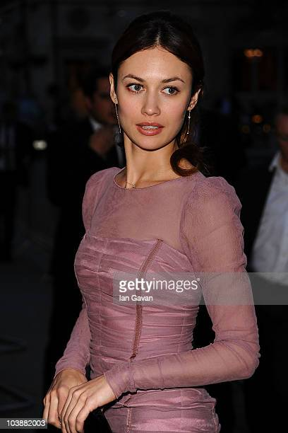 Olga Kurylenko arrives at the GQ Men of the Year Awards 2010 at the Royal Opera House on September 7 2010 in London England