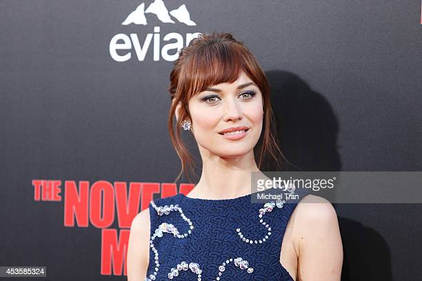 """Olga Kurylenko arrives at the Los Angeles premiere of """"The November Man"""" held at TCL Chinese Theatre on August 13, 2014 in Hollywood, California."""