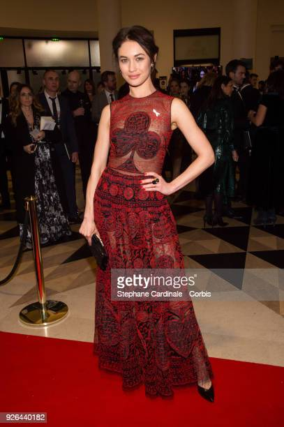 Olga Kurylenko at Salle Pleyel on March 2 2018 in Paris France