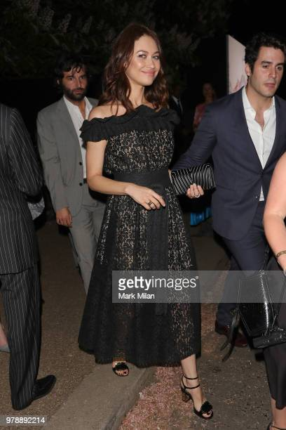 Olga Kurylenko attending the Serpentine Gallery and Chanel Summer Party 2018 on June 19 2018 in London England