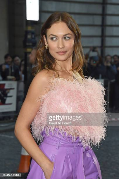 Olga Kurylenko attends a special screening of Johnny English Strikes Again at The Curzon Mayfair on October 3 2018 in London England